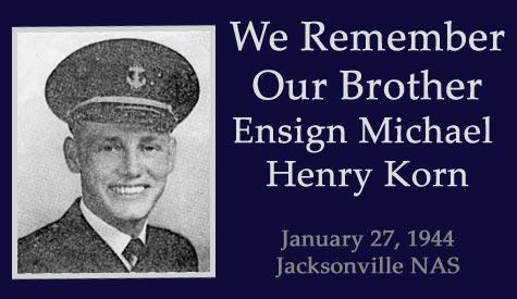 Ensign Michael Henry Korn Killed in Action